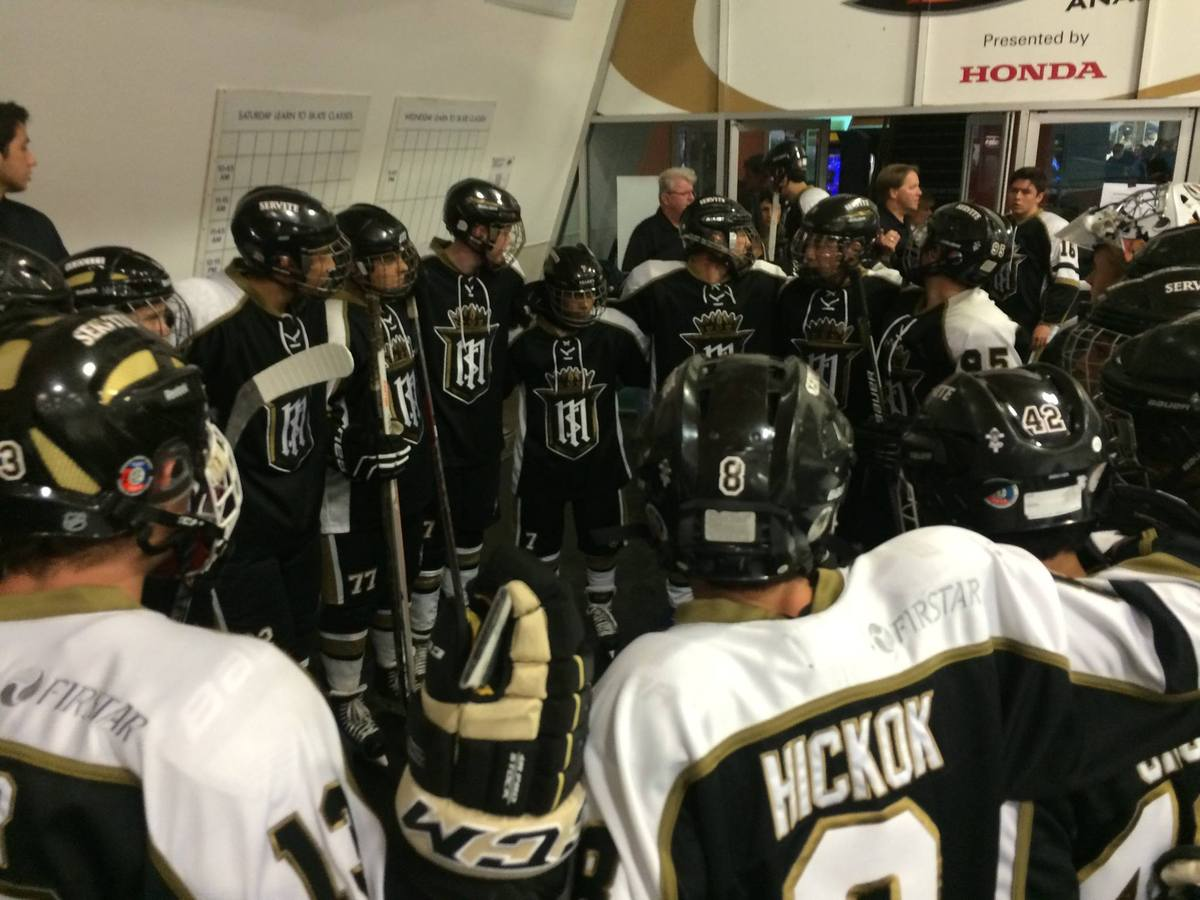 Servite Hockey Opens the Season with 8-3 Win over Poway