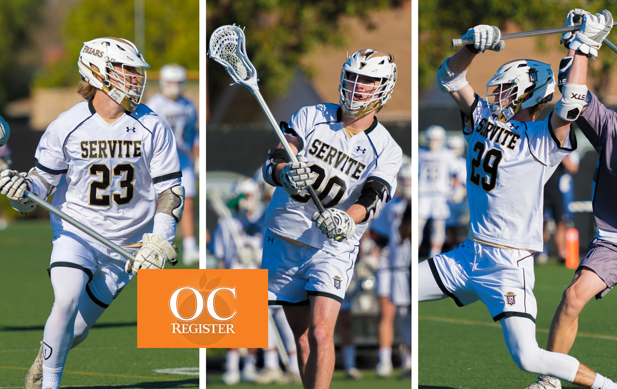 Rodenbeck, Brennan and Seals Earn OC Register All-County Recognition