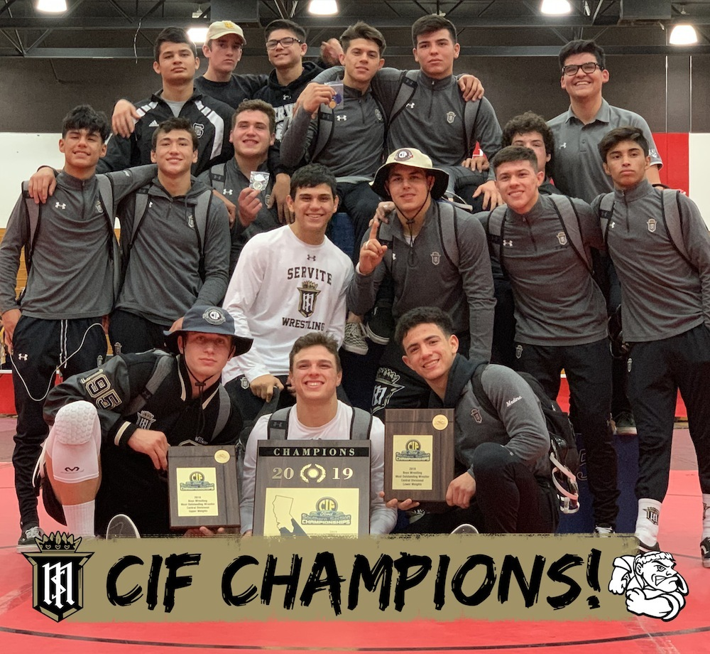 Wrestling Wins CIF-SS Central Division CIF Championship with Record-Breaking Performance