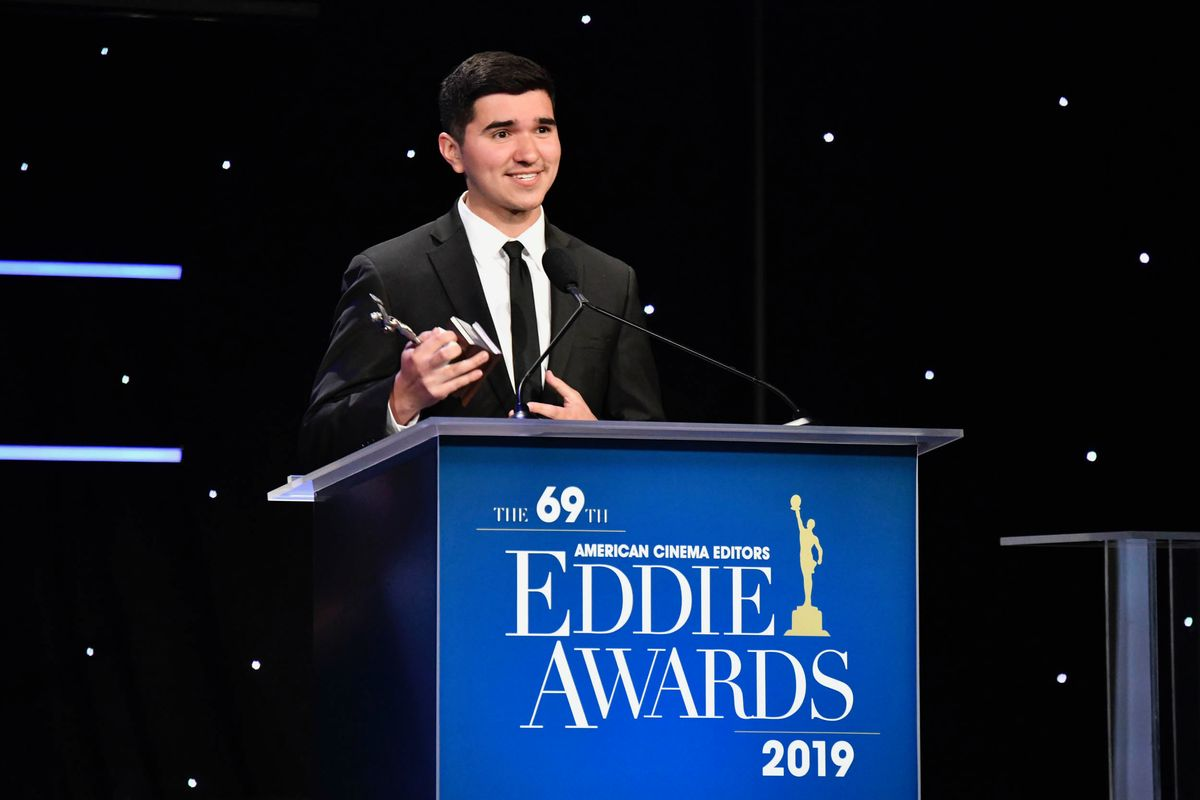 Marco Gonzalez '15 Wins National Film Editing Award