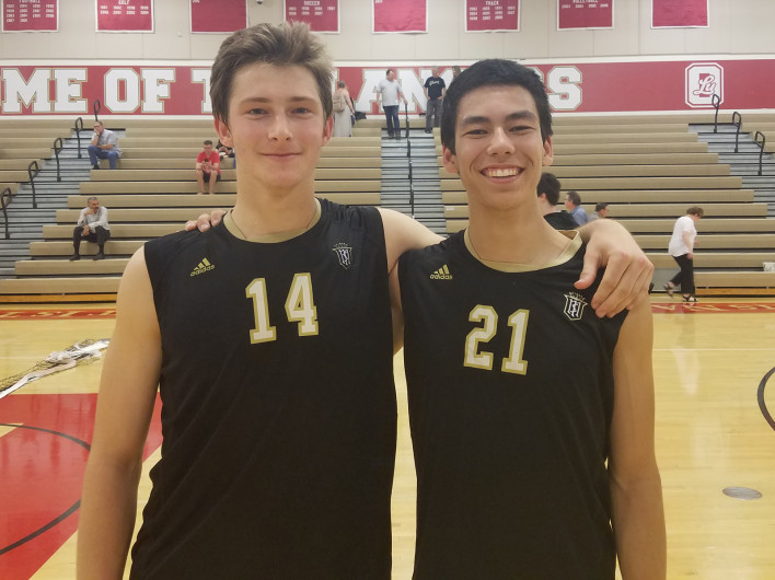 Volleyball Sweeps Orange Lutheran 3-0 to Improve to 8-1 in Trinity League Play