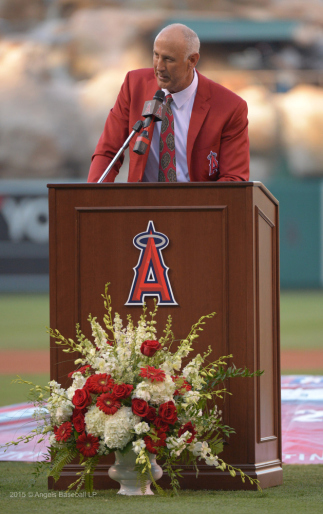 Mike Witt 78 Inducted Into Angels Baseball Hall Of Fame
